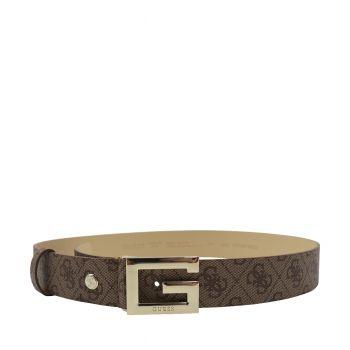 Guess Cintura Donna con Stampa Logo Latte