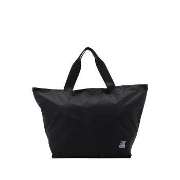K-Way Borsa Shopping K-Pocket Grande Nera