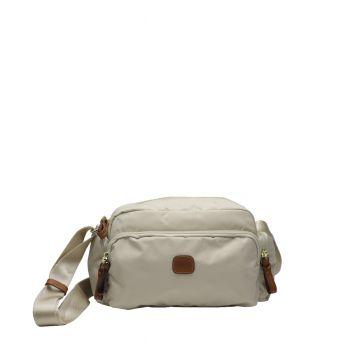 Bric's X Bag Tracolla Bianco Cuoio