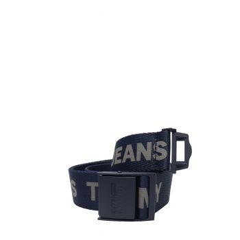 Tommy-Hilfiger-Cintura-in-Nylon-con-Logo-Blu-Uomo-AM0AM07190CKT
