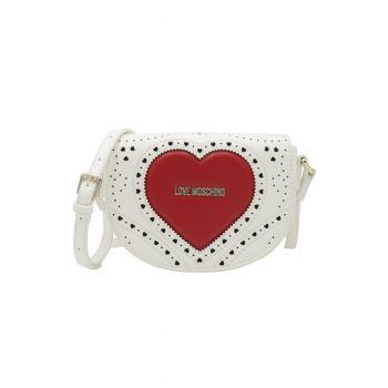 Love-Moschino-borsa-a-tracolla-bianco-rosso