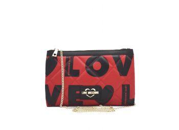 Love-Moschino-Borsa-a-tracolla-rosso-nero