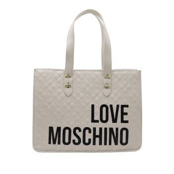Love Moschino-shopping- avorio