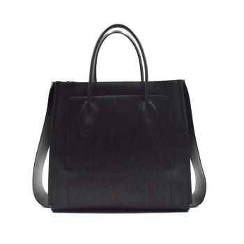 Patrizia-Pepe-Borsa-Shopping -misura-XL-nero